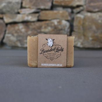 Manuka Honey & Oats Bearded Lady Goat Soap