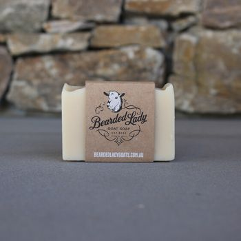 Aussie Fresh Eucalyptus Bearded Lady Goat Soap