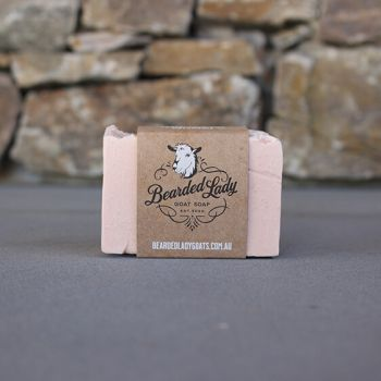 Peace, Love & Patchouli Bearded Lady Goat Soap