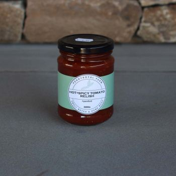 Tomato Hot/Spicy Relish 300G Pennyroyal