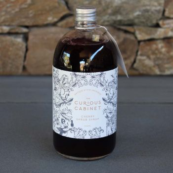 The Curious Cabinet Cherry Shrub Syrup 500Ml