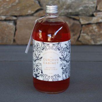 The Curious Cabinet Rhubarb Shrub Syrup 500Ml