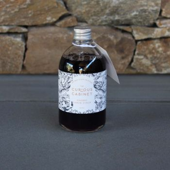 The Curious Cabinet Cherry Shrub Syrup 250Ml