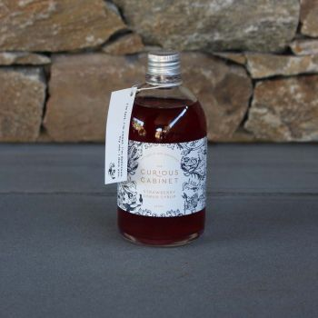 The Curious Cabinet Strawberry Shrub Syrup 250Ml