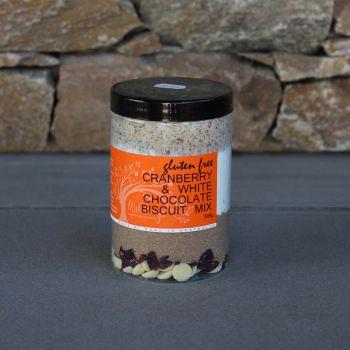 Wildings Gluten Free White Chocolate & Cranberry Cookie Mix 395G