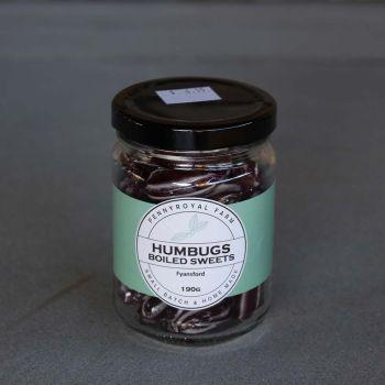 Humbugs Boiled Lollies 190G Pennyroyal