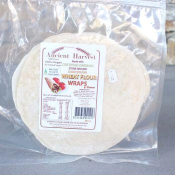 Ancient Harvest Org S/Dough Wheat Flour Wraps 220G