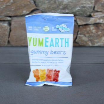 Yum Earth Gummy Bears 71G