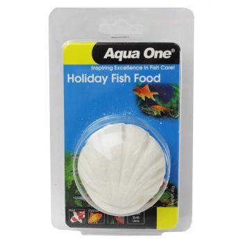 Holiday Fish Food Blocks 40g Aquarium 95005 Slow Release Aqua One