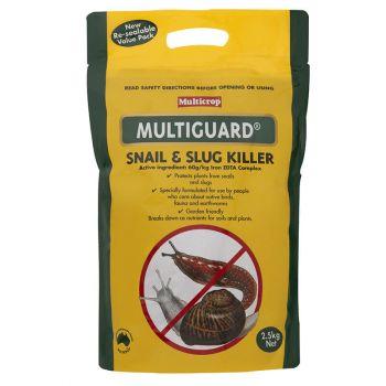 Multicrop Multiguard Snail & Slug Killer Breaks Down as Plant Nutrient 2.5kg