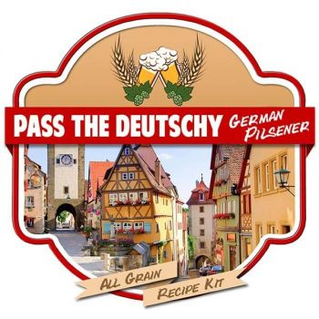 Pass the Deutschy German Pilsner All Grain Recipe Kit Suit Grainfather Home Brew