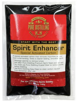Spirit Enhancer Activated Carbon Pure Distilling EACH Removes Impurities Clean