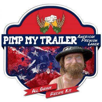 Pimp My Trailer Premium Lager All Grain Recipe Kit Suits Grainfather Home Brew