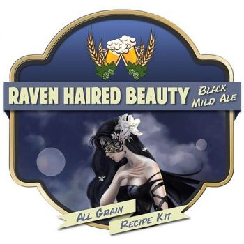 Raven Haired Beauty All Grain Recipe Kit Suits Grainfather Home Brew