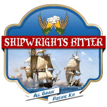 Shipwrights Bitter All Grain Recipe Kit Suits Grainfather Home Brew