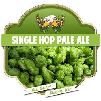 Single Hop Pale Ale All Grain Recipe Kit Suits Grainfather Malt Home Brew