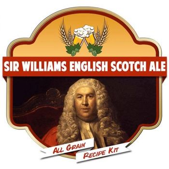 Sir Williams English Scotch Ale All Grain Recipe Kit Suits Grainfather Home Brew