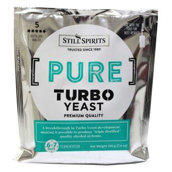 PURE Triple Distilled Turbo YEAST Still Spirits 1 Pack Home Brew