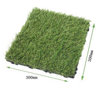 Artificial Grass Tile 300x300 Interlocking