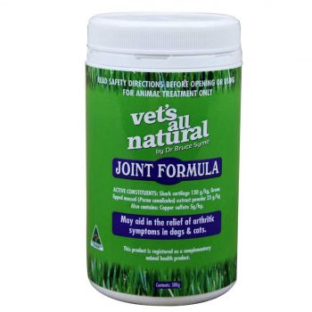 Vets All Natural Joint Support Health Treatment Dogs and Cats 500g