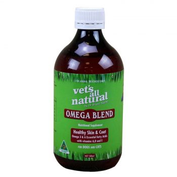 Vets All Natural Omega Blend Health Treatment Dogs and Cats 500ml