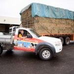 Stock Feed Delivery Ute