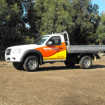 Landscape Delivery Ute
