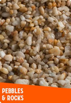 Pebbles & Rocks